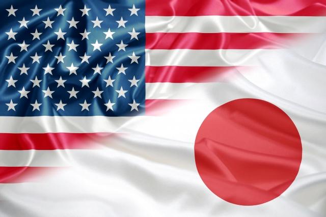 日本とアメリカ