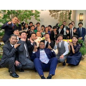 チョコプラ松尾結婚式